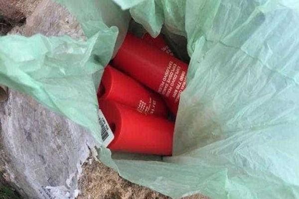 Catador de latinhas encontra explosivos em saco e aciona polícia no PR