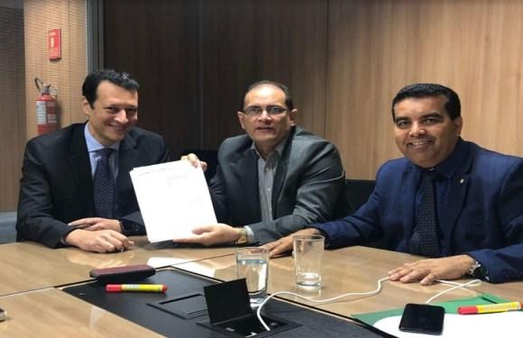 Daniel Pereira e Lindomar Garçon vão à Presidência do Banco do Brasil para evitar quebradeira do estado