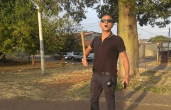 VÍDEO: após discussão, bombeiro atira na perna de entregador