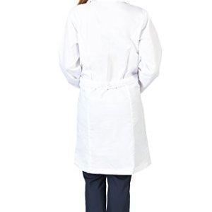 Amazon.com: Natural Uniforms Unisex 40 inch Lab Coat, White: Clothing