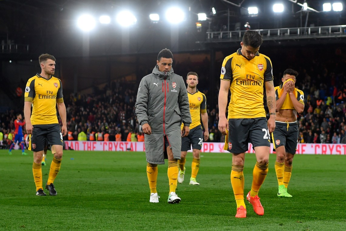 Image Result For Arsenal Vs Crystal Palace