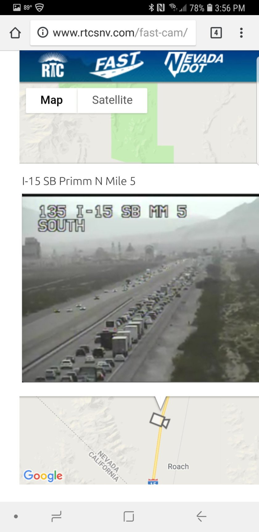4pm Labor Day Traffic Report – Pain In The Pass