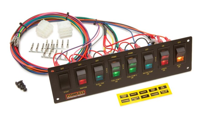 racing switches with fuse box  center wiring diagram table