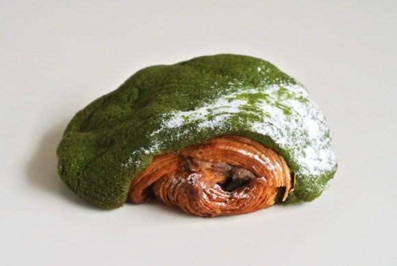 フォーシーズンズホテル京都の「抹茶と小豆のパンオショコラ」