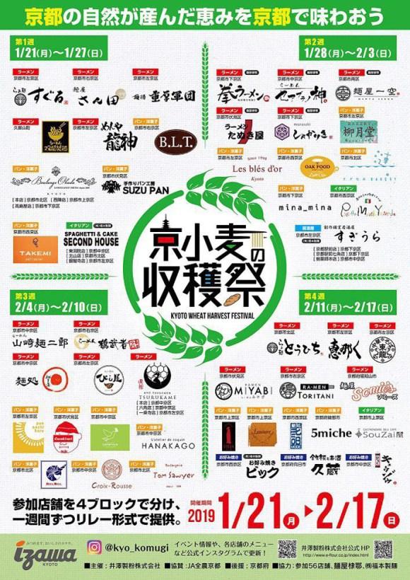 京小麦の収穫祭 ポスター