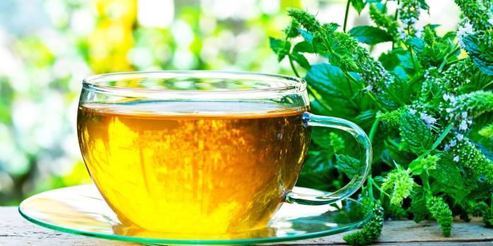 Peppermint Tea for Pain