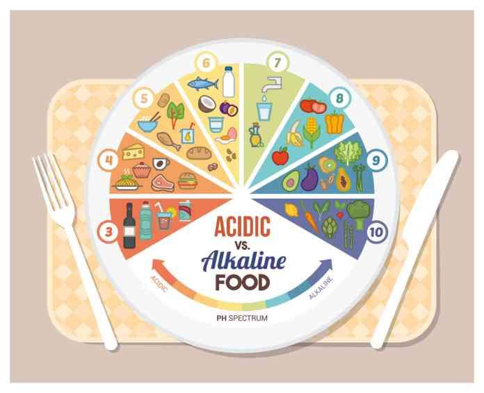 alkaline acidic food scale