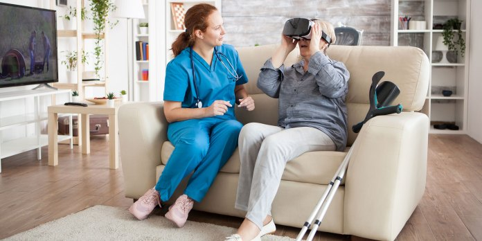 Virtual Reality as an At-Home Pain Treatment