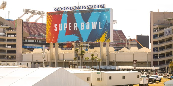 Covid-19 Super Bowl Tampa Florida