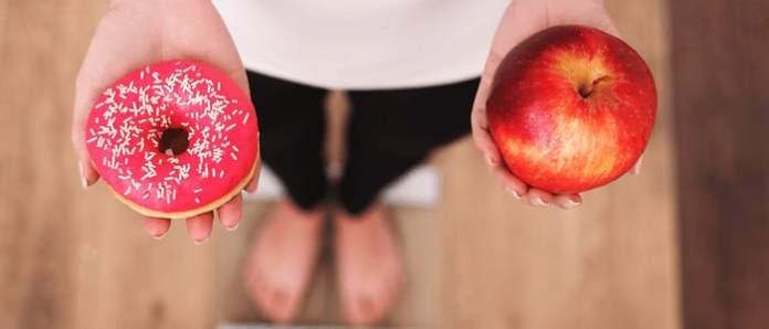 healthy vs unhealthy diet
