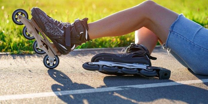 roller blades chronic pain