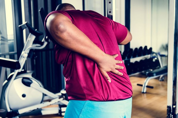 back pain as an athlete