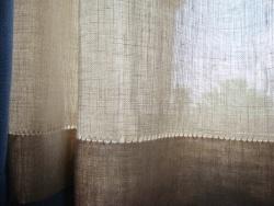 Arts Amp Crafts Style Curtains Paint By Threads Original Arts Amp Crafts Textile Designs By
