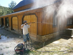 Pressure Cleaning Cabin