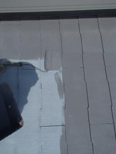 ガイナ 横浜市青葉区 カラーベストコロニアル 屋根 塗装