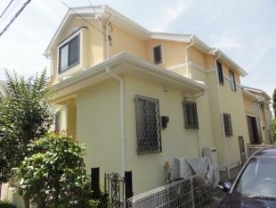 ガイナ 横浜青葉区 コロニアル 屋根 塗装