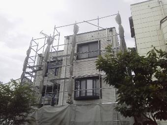 ガイナ 座間市 ALCパネル 外壁 塗装