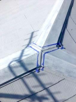 コロニアル屋根 ガイナ塗装 (2)