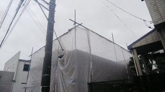 ガイナ 平塚市 ガルバリウム 屋根 塗装