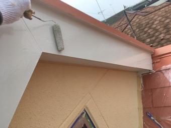 ガイナ 横販市旭区 コロニアル 屋根 塗装