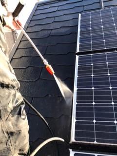 ガイナ 横浜市 瀬谷区 コロニアル屋根 塗装