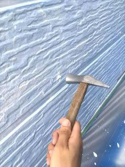 コロニアル屋根 ガイナ塗装 (7)