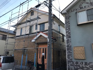 ガイナ 横浜市 瀬谷区 コロニアル 塗装