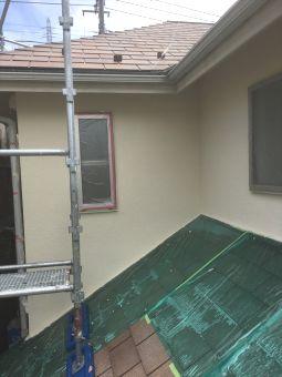 リシン外壁ガイナ塗装 (3)