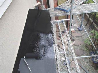 コロニアル屋根 ガイナ塗装 (8)
