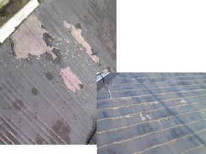 下地の状態を正しく判断できなかった そして、材料の選択ミスによるトラブル