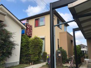 千葉県鎌ケ谷市の屋根塗装外壁塗装遮熱塗料戸建塗装施工事例