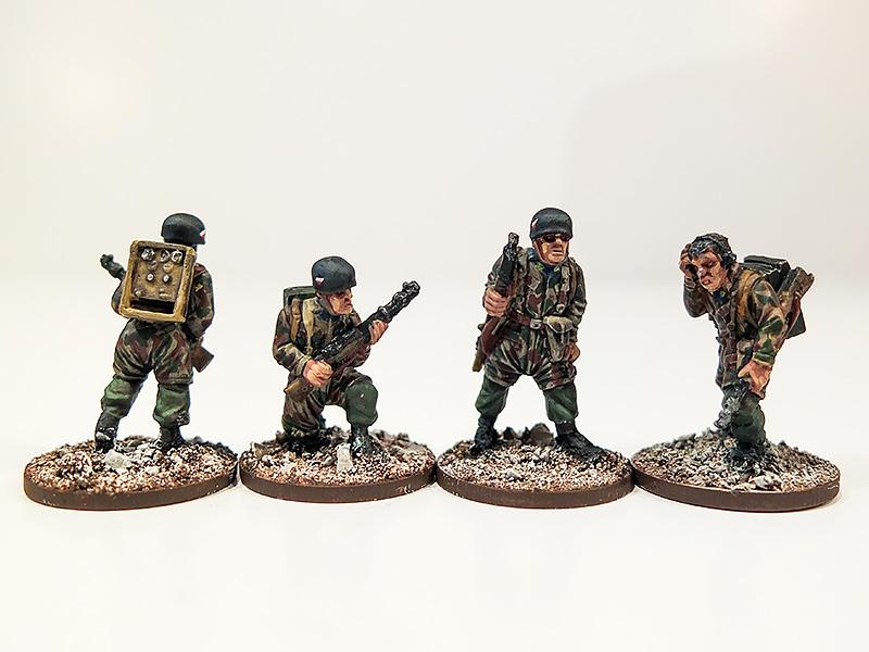 German Fallschirmjager Radio Operators