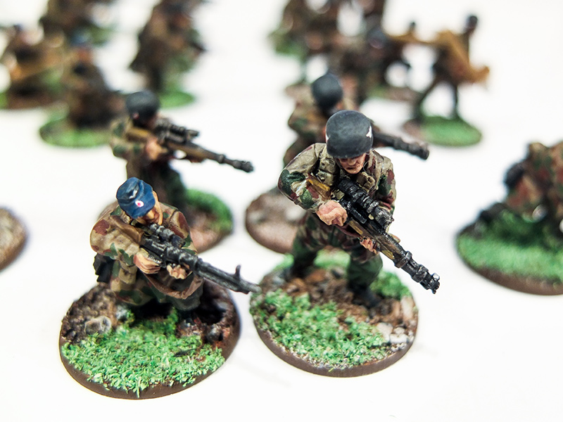 German Fallschirmjager Snipers
