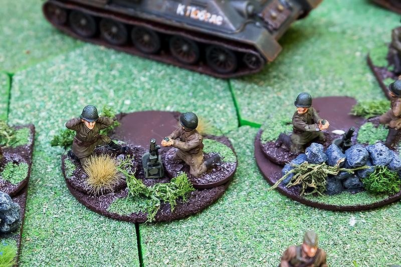 50mm Mortars & Crew