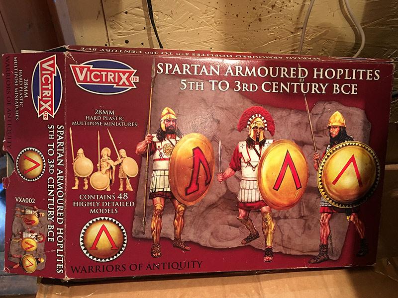 Victrix Spartan Hoplites