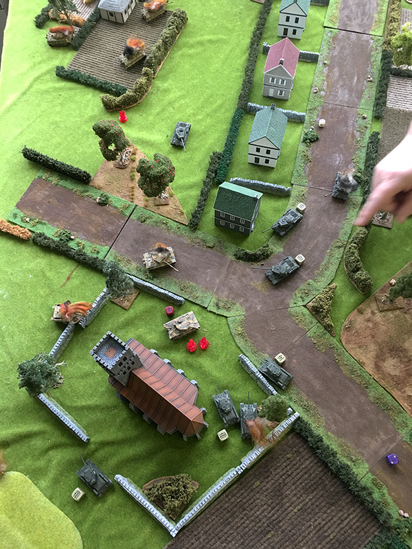 End of turn eight