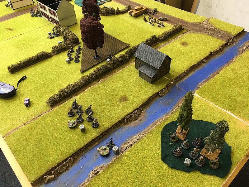 German right flanks advances