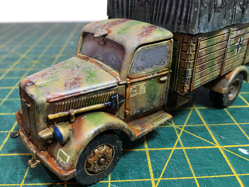 The Completed Opel Blitz Truck