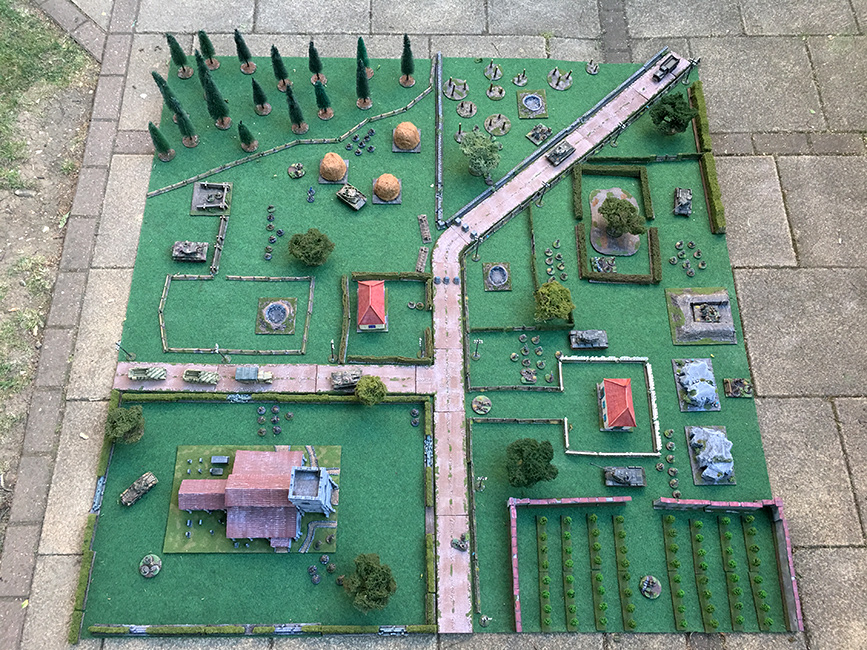How they look on the wargames table