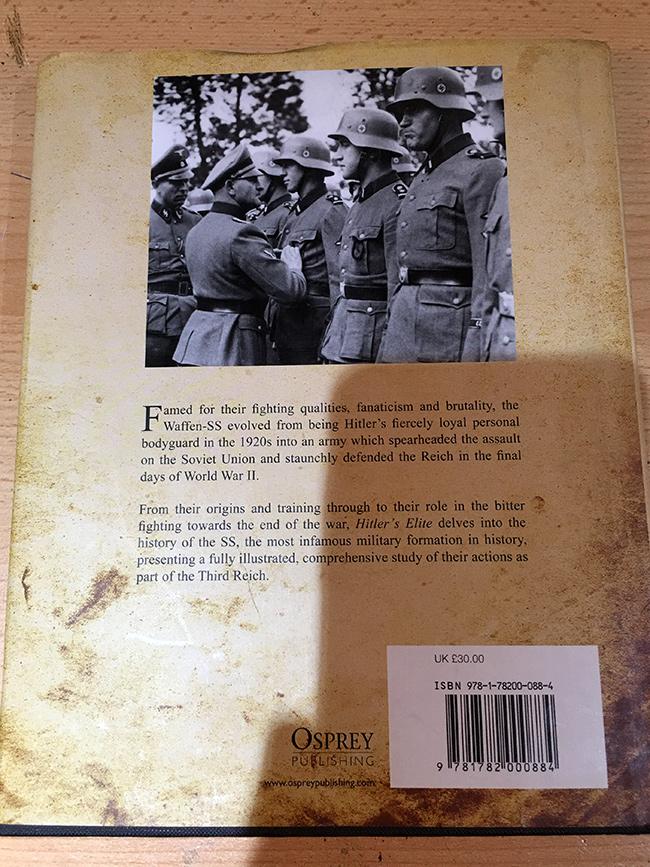 Hitler's Elite - Back Cover