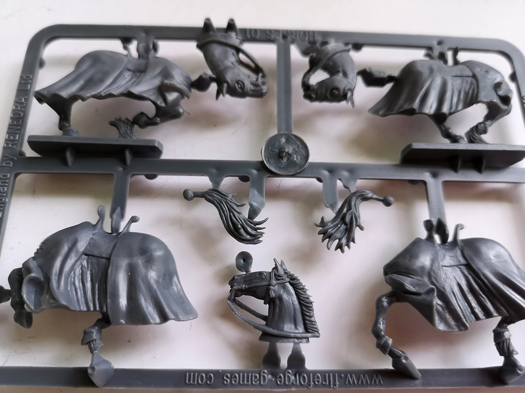 Decorated Horse Sprues