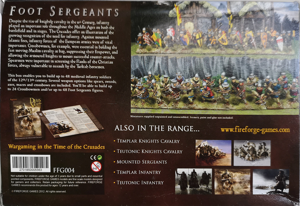 Fireforge Foot Sergeants Box Rear