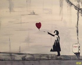 Bansky's Red Balloon