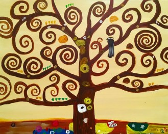 Klimt, Tree of Life