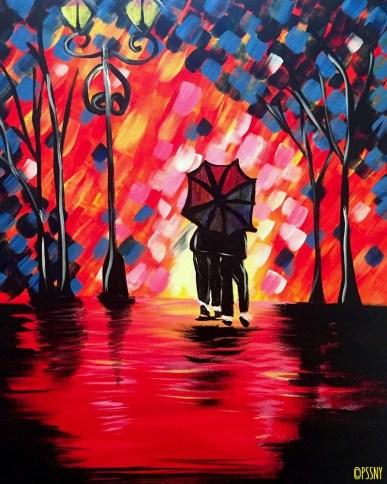 Romantic Rain Shower