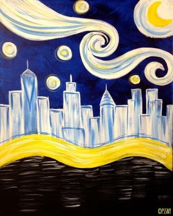 Starry Manhattan