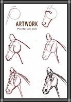 رسومات اطفال بسيطة رسم حصان