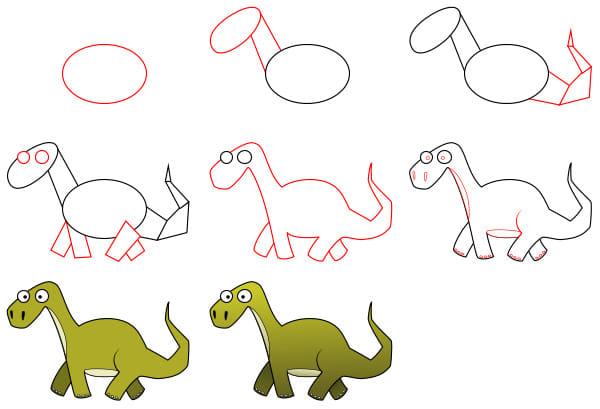 رسم اطفال صغار