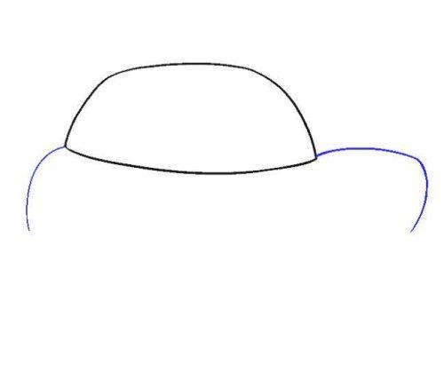 رسم سيارات سهله