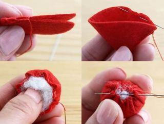 اشغال يدوية بسيطة طريقة عملها بالصور والخطوات - صنع علبة رائعة على شكل كعكة
